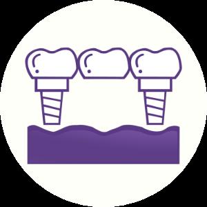 Implant Bridge icon Dental House Bacchus Marsh